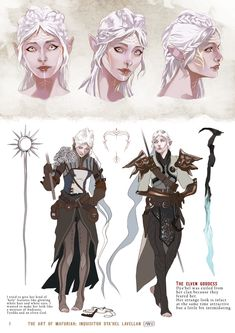 "dyalavellan: Dya'hel Lavellan character sheet ""Oops, I stepped in Fen'harel"" THE ELVEN GODDESS: Dya'hel was exiled from her clan because they feared her. Her strange look is infact at the sam… Dragon Age Origins, Dragon Age Elf, Dragon Age Memes, Dragon Age Inquisition Characters, Dragon Age Characters, Dnd Characters, Fantasy Characters, Character Sheet, Character Concept"