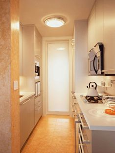 Small Galley Kitchen Design - Small Galley Kitchen Design: Pictures & Ideas From HGTV Best Kitchen Design, Galley Kitchen Design, Galley Kitchen Remodel, Kitchen Small, Kitchen Remodeling, Narrow Kitchen, Condo Kitchen, Kitchen Nook, Cheap Kitchen