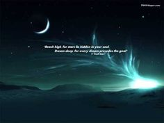 Reach high for stars lie hidden in your soul. Dream deep for every dream precedes the goal. Inspirational Quotes Background, Inspirational Quotes With Images, Amazing Quotes, Best Quotes, Inspiring Pictures, Motivational Wallpapers Hd, Star Quotes, Word Of Advice, Dream Quotes