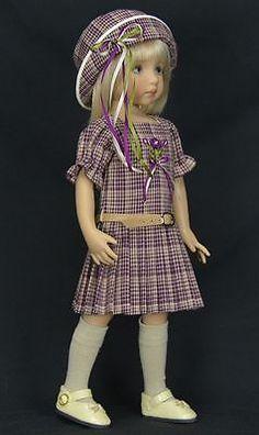 """~~ Plaid Pleats ~~ For 13"""" Dianna Effner Little Darling Studio Dolls by Melanie"""
