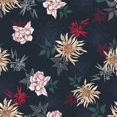 Daniela Duarte on Patternbank Pattern Design, Free Pattern, Textile Design, Royalty, Prints, Fashion Design, Royals, Sewing Patterns Free, Royal Families