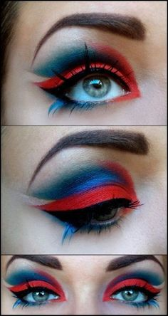The Dancing Dragon by @fixermoi in Motives Eye Shadows(Rock Candy & Twilight)!   #fire #water #air