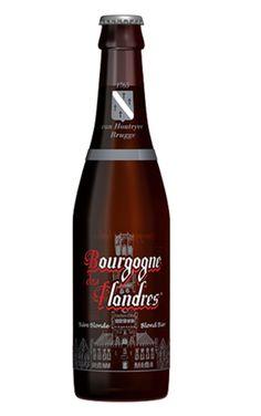 Cerveja Bourgogne des Flandres Blonde, estilo Belgian Blond Ale, produzida por John Martin, Bélgica. 6% ABV de álcool.