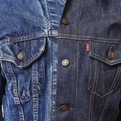 LEvi's Type III denim jacket. Vintage 60's and brand new.