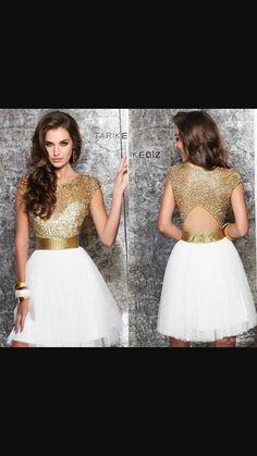 835d95a1a8f Gold Grade 8 Grad Dress Gold Dama Dresses
