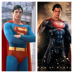 Superman- Christopher Reeves and Henry Cavall