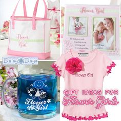 Wedding Gift Ideas for Flowers Girls