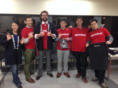 シリコンバレーでも注目の成長企業で、日本でも熱烈展開中!Zendesk共同創業者のミッケル・スヴェーンCEOと一緒に「ガンバ」!