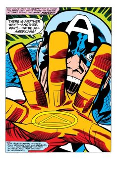 """We're all Americans!"" - Jack Kirby"