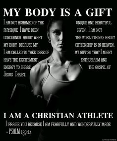 I need to remember to strive for health and fitness in order to take care of the body God has given me. It& not about me or what other people think of me, but about honoring and loving the body I have been given by treating it well. All for my Creator Fitness Quotes, Fitness Tips, Health Fitness, Love Fitness, Fitness Gear, Fitness Equipment, Zumba, Insanity Program, Step Dance