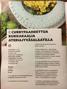 Currypaahdettu kukkakaali
