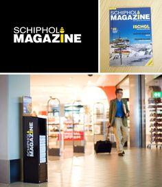 Identity for Schiphol Magazine