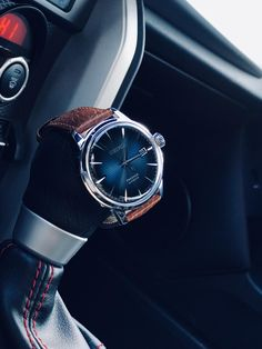 Seiko Presage Cocktail Time on a Hirsch Forest strap (x-post r/watches) Casual Watches, Watches For Men, Best Looking Watches, Seiko Mod, Seiko Presage, Seiko 5 Automatic, Watch Model, Seiko Watches, Cocktail