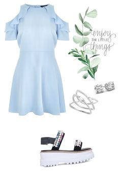 """Stylish"" by killemwithstyle ❤ liked on Polyvore featuring Suecomma Bonnie and New Look"