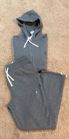 Friendly Ralph Lauren Grey Tracksuit Bottoms Fast Color Tracksuits & Sets Activewear