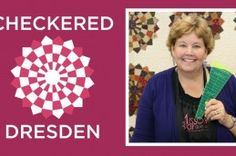 Checkered Dresden Quilt Tutorial