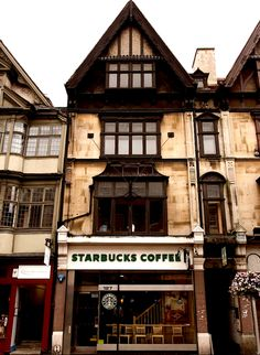 #Starbucks, Oxford, England.     -   http://vacationtravelogue.com  Guaranteed Best price and availability  on Hotels