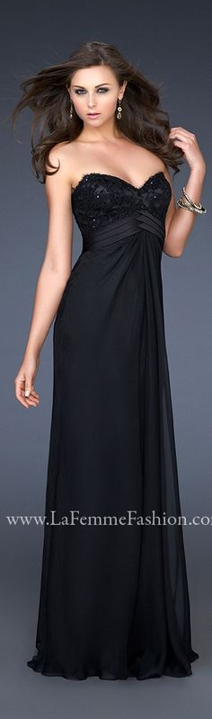 La Femme 17036 http://www.genealogydresses.com/la-femme-17036.html #dresses