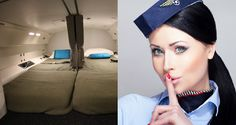 Check Out The Secret Rooms Where Pilots and Flight Attendants Sleep!