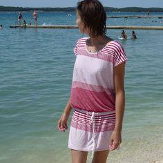 001 Plážové šaty
