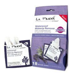 La Fresh Eco Beauty Waterproof Makeup Remover Wipes, 18 Count $14.45