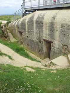 German bunker at Pointe Du Hoc