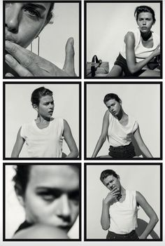 contact sheet + black and white + fashion photography + Alba Galocha Self Portrait Photography, Film Photography, Fashion Photography, Photography Ideas, Poses References, Foto Pose, Strike A Pose, Photojournalism, Belle Photo