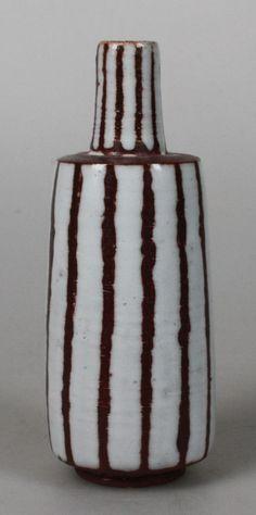 De Vuurvogel art pottery vase