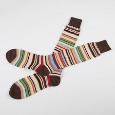 Paul Smith Socks - Long Multi Stripe Socks