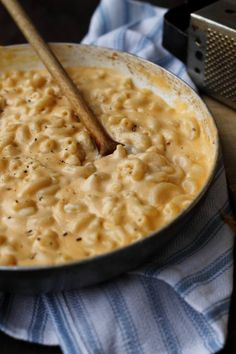 three cheese stovetop macaroni and cheese