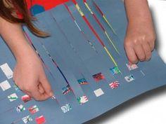 Paper Crafts for Children » Paper Weaving Mat