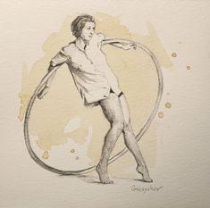 Circle Drawing by Oleksii Gnievyshev Circle Drawing, Graphite Drawings, Woman Drawing, Buy Art, Paper Art, Saatchi Art, Original Art, Fine Art, The Originals