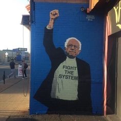 The struggle continues! #ThankYouBernie ✊
