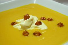 Carrot, potato and root vegetables soup