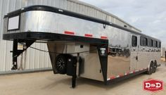 "2016 Exiss 26'x6'x8'6"" Custom Low Pro Stock Trailer $58,995 call Today (830)379-7340 www.ddfarmranchtrailers.com"