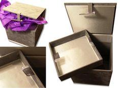 Silk & Velvet Box  To save your most precious secrets...