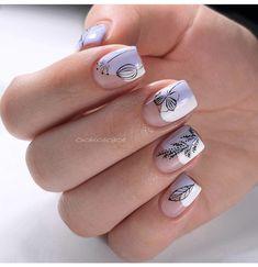 Nail Designs nail designs for fall nail designs for summer gel nail designs 2019 fall nail Bling Nails, Diy Nails, Glitter Nails, Cute Nails, Pretty Nails, Minimalist Nails, Summer Gel Nails, Fall Nails, Nagel Bling