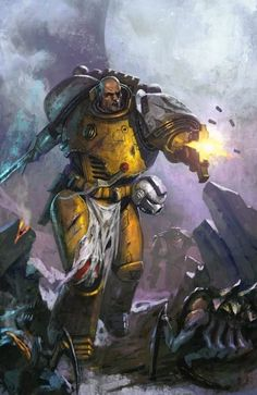 adrathorn:  My lobe for imperial fists is near second to my love of the inperial guard  Not an Imperial Fist?