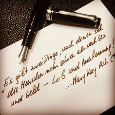 Mary Kay, dem ist nichts hinzu zu fügen: Lob und Anerkennung sind die Treiber unseres Verhaltens!  Bring deine Einzigartigkeit zu Papier und stich aus der Masse hervor!  www.nota-nobilis.at  #diamine #noodlers #sailorpen #deatramentis #füller #Füllfeder #füllfederhalter #fountainpen #ink #tinte #premiumtinte #erfolg #success Lob, Mary Kay, Success, Calligraphy, Writing, Paper, True Sayings, Hang In There, Lettering