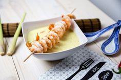 Rezept für Dampfgarer: Kokos-Suppe mit Garnelen