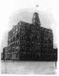 Southern Railway Building. Washington. Demolished 1928.