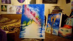 Speed painting video of me making my painting of Actaeon turned into a stag and Artemis in the night Painting Videos, Artemis, Watch, Bracelet Watch, Clocks, Wrist Watches