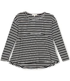 Copper Key Big Girls 716 Striped Knit Tee #Dillards