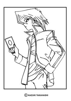 yu gi oh coloring page enjoy go green and color online this