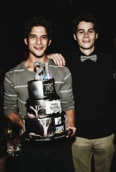Tyler Posey and Dylan O'Brien