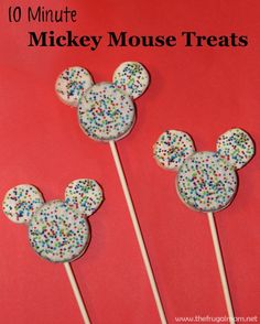 Easy Mickey Mouse Treats To Show Your #DisneySide