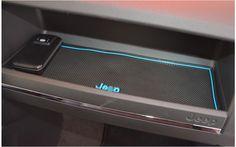 For Jeep patriot 2012-2014 Car anti slip mat Gate slot pad Interior accessory mat Cup Mat free shipping