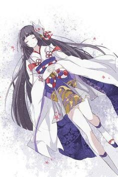 Sleeping cold snow ice kimono