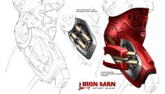 映画では登場しなかったガジェットの数々が見られる『アイアンマン』のコンセプトアート02
