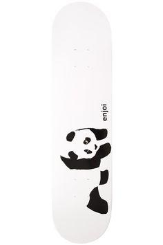 """Enjoi Team Whitey Panda R7 7.75"""" Deck (white)"""